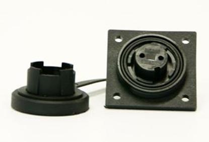 Picture of 50 Ohm LF Socket IP68 Bulgin DP c/w Caps & Screws (DPBNC50S) Each