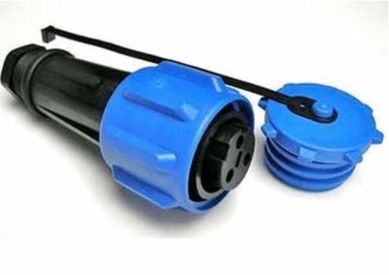 Picture of 7 Pin free Plug & Cap 9117p Bulgin Buccaneer 900 Series (1457/PA) Each