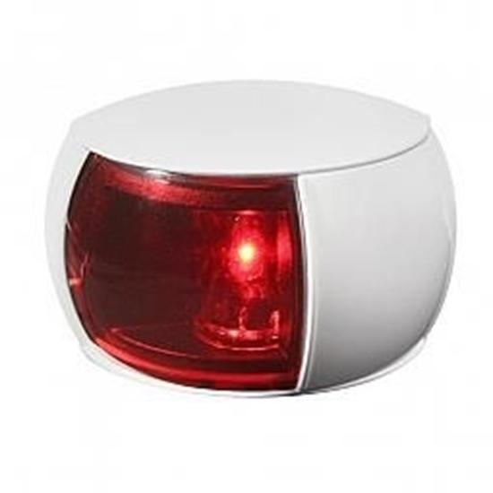 Picture of NaviLED 2NM Col Reg Port Lamp White Shroud Coloured Lens (2LT 980 520-041) Each