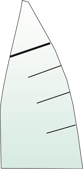 Picture of Dinghy Batten 10 x 1400mm (10D1400) Each