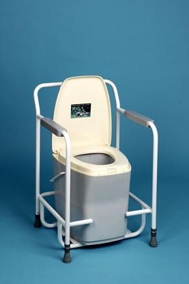 Picture of Universal Toilet Frame White (UNI01) Each