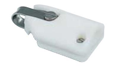 Picture of SDA Luff Batten Box 60 x 38mm Round Batten 6-8mm (105717) Each