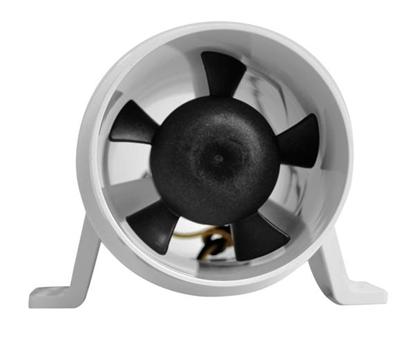 """Picture of Turbo 4000 Series II In-Line Fan Bilge Blower 24V 4"""" (Bulk) (1751-1) Each"""