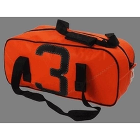 Picture of Sailcloth Sports Bag Small Orange 50 x 20 x 25cm - 25L (Leste S Orange) Each