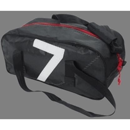 Picture of Sailcloth Sports Bag Small Black 50 x 20 x 25cm - 25L (Leste S Black) Each