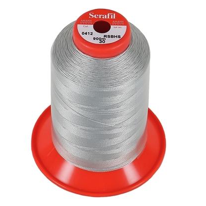 Picture of Serafil 30 Thread 412 Silver 4000m (SF2529-412) Spool