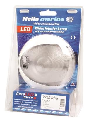 Picture of EuroLED 130 Down Light White Light White Shroud Switch Touch Sensitive (2JA 959 950-521) Each