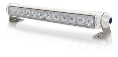 Picture of Sea Hawk-350 LED Bar Light Spot White Light White Housing Bracket Mount (2LT 958 040-661) Each