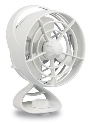 Picture of Turbo Fan Two Speed Side/Upright/Pendant Mount 12V Black Housing (8EV 003 361-002) Each