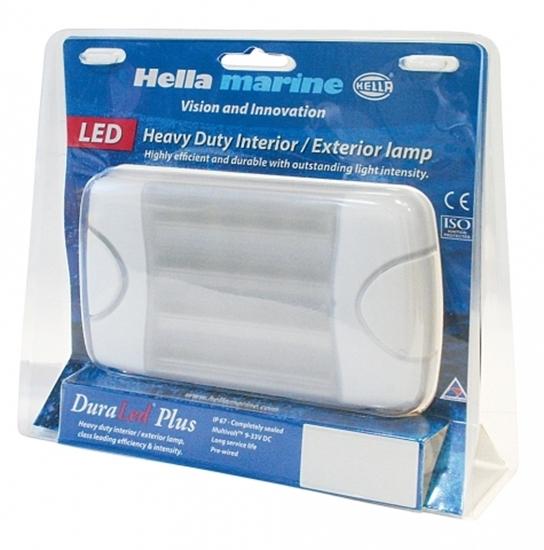 Picture of DuraLED 36 Utility Light Oblong White Light White Shroud (2JA 959 037-522) Each