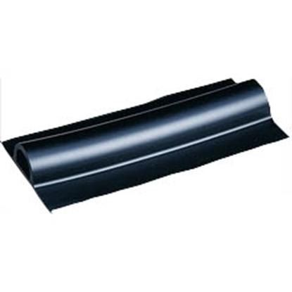 Picture of Fender D Section 19m Black EPDM Rubber (D-FENDER) Each