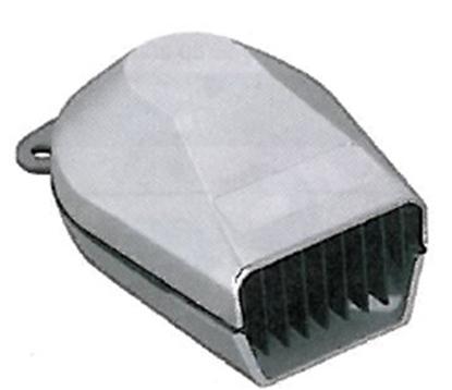 Picture of Low Profile Horn 12V Chrome Plastic (Bulk) (11475-1) Each