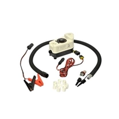 Picture of MB 80/12 12v DC Inflator Deflator  Cigar lighter plug 700l/min 80mbar 1.2psi (6130008N) Each