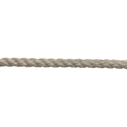 Picture of 3 Strand - Nylon 8mm - White (PA308W) 100M Reel