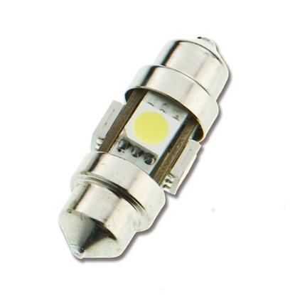 Picture of Cold 12 SMD LED Bulb Festoon 6-32V (L4410044B) Each