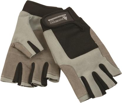Picture of Gloves M Amara Reinforced Mesh Backed 5 Short Fingers + Adj Wrist Strap (FG-1011) Pair