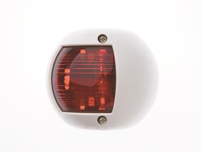 Picture of Round Nav Light Port White 12v for up to 20m (L5774530) Each