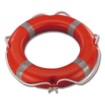 Picture of Ring Lifebuoy 2.5kg Orange 50 x 65cm SOLAS & IMO (N1435060) Each