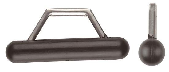 Picture of Sail Slide - Plastic with Narrow SS Bail Slug 8mm dia Heavy Duty (A031C) Each