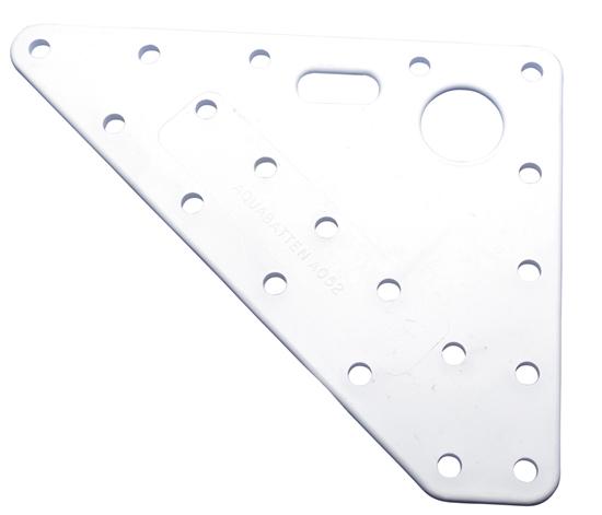 Picture of Headboard 115mm x 140mm x3.5mm Plastic (NHB01G) Each
