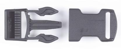 Picture of Snap Buckles for 50mm Webbing Black Nylon (SR50BKN) Each