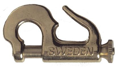 Picture of Swedish Brass Piston Jib Hanks #0 Knock-On 44mm (1126) Each