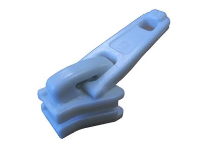 Picture of YKK® Slider No.5 Vislon® Single Plastic White (4633/501) Each