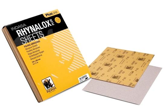 Picture of Rhynalox Plusline 230x280mm Sandpaper 50 Sheets P80 (C22154) Each