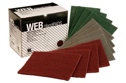 Picture of Nylon Web Sanding Pad 230x150mm Box 20 Green Medium Grit (C45908) Each