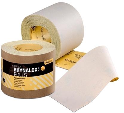 Picture of Rhynalox Plusline 115mmx10m Sandpaper Roll P80 (C49863) Each