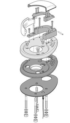 Picture of Windlass Base 1000W Series AI Comp (FVSSBAL10C00A00) Each