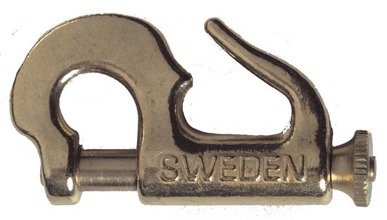 Picture of Swedish Brass Piston Jib Hanks #6 Knock-On 107mm (1132) Each