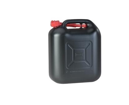 Picture of 20L Fuel Jerry Can Black With Flexi Spout UN Certified (813500) Each