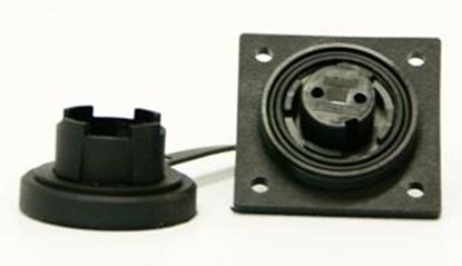 Picture of 3 Pin LF Socket IP68 Bulgin DP c/w Caps & Screws (DP3S) Each