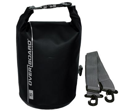 Picture of 5 Litre Dry Tube Bag Black Waterproof 24cm x 19cm (OB1001BLK) Each