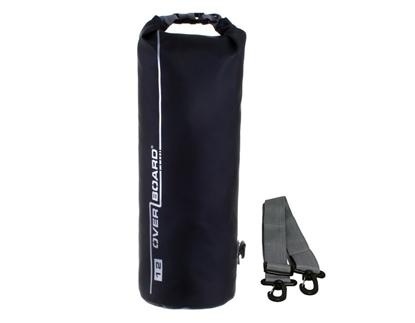 Picture of 12 Litre Dry Tube Bag Black Waterproof 40cm x 19cm (OB1003BLK) Each