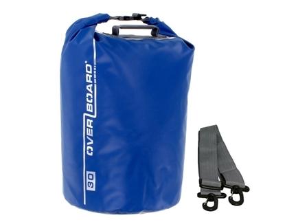 Picture of 30 Litre Dry Tube Bag Blue Waterproof 42cm x 29cm (OB1006B) Each