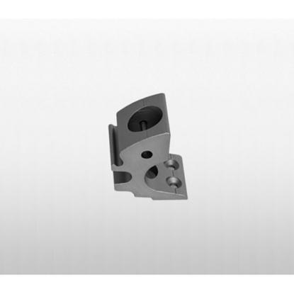 Picture of Stanchion Base 808 Toe Rail Dia 25mm Aluminium (97796) Each