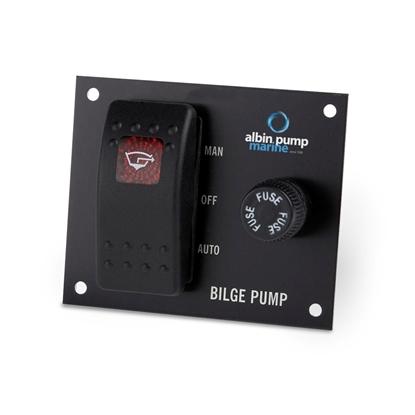 Picture of Bilge Pump Panel 3-way 12V/24V (01-66-027) Each