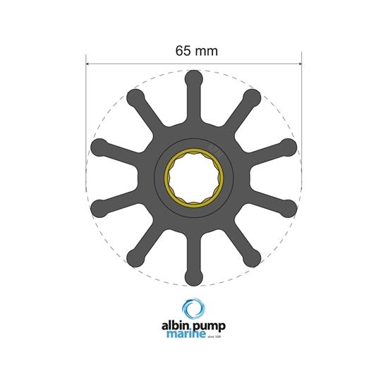 Picture of Premium Impeller Replaces JMP 7420-01 (06-02-022) Each