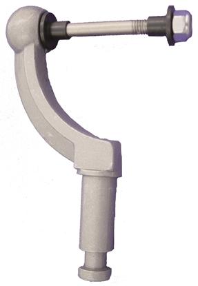 Picture of Rowlock Aluminium With Bolt Inner Dia Max 46mm, Tap Dia 17mm (48804) Pair