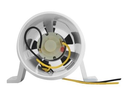 """Picture of Turbo 4000 Series II In-Line Fan Bilge Blower 12V 4"""" (Bulk) (1749EC-1) Each"""