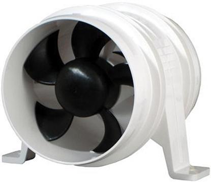 """Picture of Turbo 4000 Series II In-Line Fan Bilge Blower 12V 4"""" (Aftermarket) (1749-4) Each"""