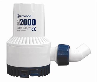 Picture of Heavy Duty Bilge Pump 2000 12V (Aftermarket) (4760-4) Each