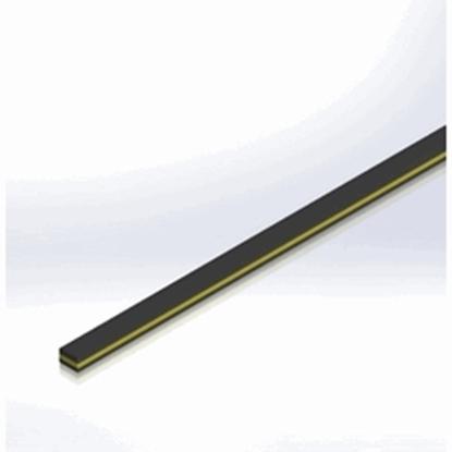 Picture of Uniform Section Glass Batten 1200 x 20mm | 4 x 4mm (L004004001200-G20) Each