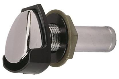 Picture of Chrome Plated Zinc Gas Tank Vent W/Splash Gd (0506DP4CHR) Each