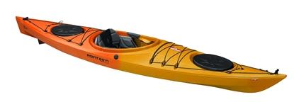 Picture of XO13 GTE Day Tourer Kayak With Skeg Yellow/Orange (000141011917) Each