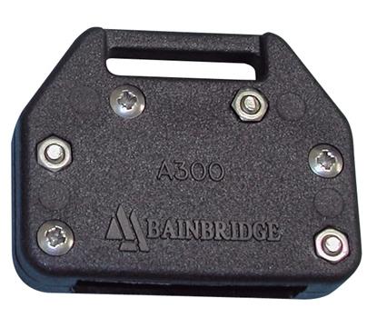 Picture of Bainbridge Batten Box for Flat Battens Up to 30mm Black  (A300BK) Each