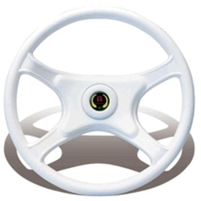 Picture of Garda Steering Wheel White 335mm Hard Grip (PD8004/08) Each