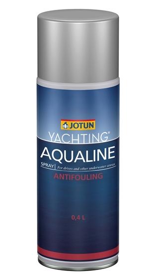 Picture of Aqualine Optima Drive Antifoul Aerosol 400ml Black  (6CZ099APA) Each
